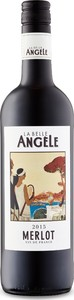 La Belle Angèle Merlot 2015 Bottle