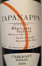 Whalebone Vineyard Tapanappa 2004 Bottle