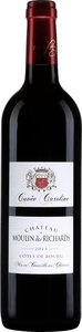 Château Moulin Des Richards Côtes De Bourg Cuvée Caroline 2013 Bottle