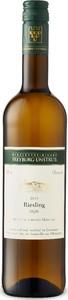 Saale Unstrut Riesling 2015 Bottle