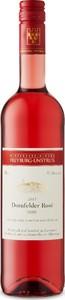 Saale Unstrut Dornfelder Rose 2015 Bottle