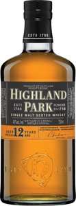 Highland Park 12 Ans Orkney Scotch Single Malt Bottle