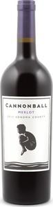 Cannonball Merlot 2014, Sonoma County Bottle