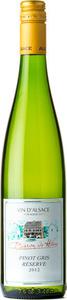 Baron De Hoen Pinot Gris Reserve 2014 Bottle