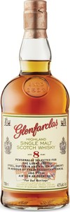 Glenfarclas Lorne Scots Commemorative 8 Year Old Single Malt Scotch Whisky (700ml) Bottle