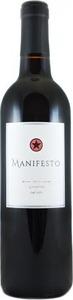 Manifesto Zinfandel 2013, Lodi Bottle
