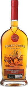 Forty Creek Confederation Oak Reserve Whisky Bottle