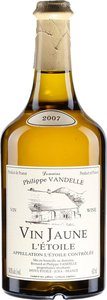 Domaine Philippe Vandelle Vin Jaune L'etoile 2009 (620ml) Bottle