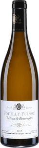 Château De Beauregard Les Chardonnets 2015, Pouilly Fuissé Bottle