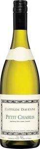 Clotilde Davenne Petit Chablis 2015 Bottle
