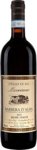 Castello Di Neive Barbera D'alba Messoirano 2014 Bottle