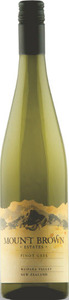 Mount Brown Estates Pinot Gris 2015, Waipara Valley, South Island Bottle