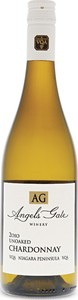 Angels Gate Chardonnay Unoaked 2015, Niagara Peninsula VQA Bottle