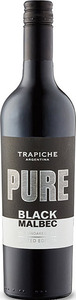Trapiche Pure Black Malbec Unoaked 2015 Bottle