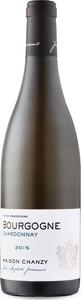 Maison Chanzy Bourgogne Chardonnay 2015, Ac Bourgogne Bottle