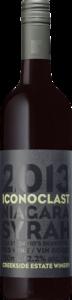 Creekside Iconoclast Syrah 2013, St. David's Bench Bottle