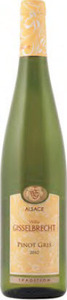 Willy Gisselbrecht Tradition Pinot Gris 2014, Ac Alsace Bottle