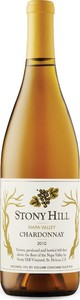 Stony Hill Chardonnay 2010, Napa Valley Bottle