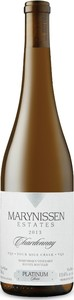 Marynissen Platinum Chardonnay 2013, VQA Four Mile Creek Bottle