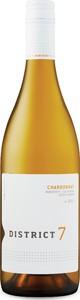 District 7 Chardonnay 2013, Monterey County Bottle