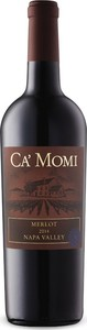 Ca' Momi Merlot 2014, Napa Valley Bottle