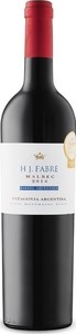 H. J. Fabre Barrel Selection Malbec 2014, Patagonia Bottle
