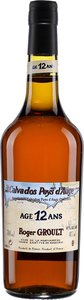 Roger Groult 12 Years Old Calvados Pays D'auge, Ac (500ml) Bottle