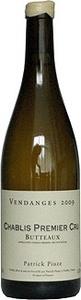Patrick Piuze Chablis Premier Cru Les Butteaux 2015 Bottle