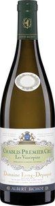 Domaine Long Depaquit Chablis Premier Cru Les Vaucopins 2014 Bottle