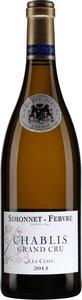 Simonnet Febvre Chablis Grand Cru Les Clos 2010 Bottle