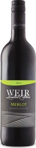 Mike Weir Limited Edition Merlot 2013, VQA Niagara Escarpment Bottle