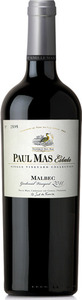 Paul Mas Estate Single Vineyard Collection Malbec 2015, Vin De Pays D'oc Bottle