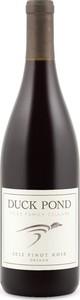 Duck Pond Pinot Noir 2014, Oregon Bottle