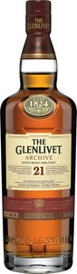Glenlivet   21 Year Old Archive Bottle