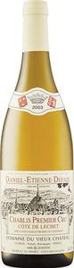 Domaine Daniel étienne Defaix Côtes De Lechet Chablis 1er Cru 2003, Ac Bottle