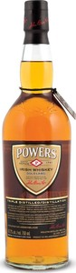 Powers Gold Irish Whiskey Bottle