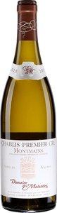 Domaine Des Malandes Chablis Premier Cru Montmains Vieilles Vignes 2014, Chablis Bottle