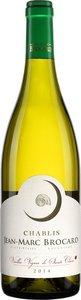 """Jean Marc Brocard Chablis Les """"Vieilles Vignes De Sainte Claire"""" 2015 Bottle"""