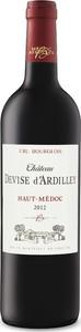 Château Devise D'ardilley 2012, Ac Haut Médoc Bottle