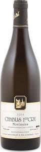 Domaine Jean Collet & Fils Montmains Chablis 1er Cru 2014, Ac Bottle
