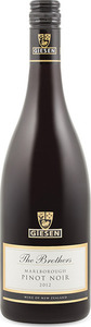 Giesen The Brothers Pinot Noir 2010, Marlborough, South Island Bottle