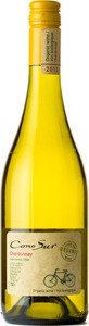 Cono Sur Organic Chardonnay 2016 Bottle