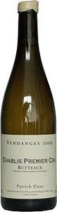 Patrick Piuze Chablis Premier Cru Les Butteaux 2010 Bottle