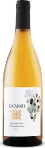 Recanati Chardonnay 2014, Kosher For Passover, Non Mevushal, Upper Galilee Bottle