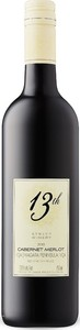 13th Street Cabernet/Merlot 2013, VQA Niagara Peninsula Bottle