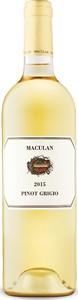 Maculan Pinot Grigio 2015, Igt Veneto Bottle