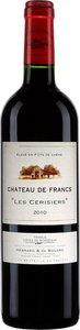 Château De Francs Les Cerisiers 2012 Bottle