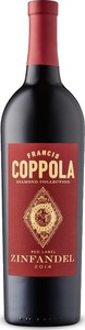 Francis Coppola Diamond Collection Red Label Zinfandel 2014, California Bottle