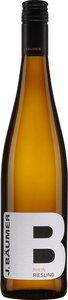 J. Bäumer Riesling 2015, Qualitätswein Bottle