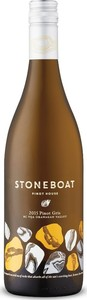 Stoneboat Vineyards Pinot Gris 2015, BC VQA Okanagan Valley Bottle